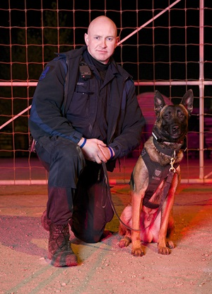 Cst. Jason Ellett and PSD Robbie
