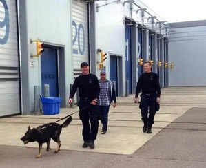 PSD Kane after Search Trials. Photo courtesy of 2016 CPCA Social Media.